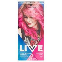 Live Ultra Brights or Pastel Farba do włosów Shockin...