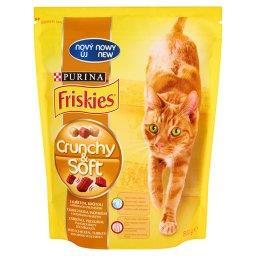 Crunchy & Soft z kurczakiem indykiem i dodatkiem warzyw Pełnoporcjowa karma dla kotów