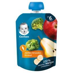 Deserek jabłko gruszka brokuł dla niemowląt po 6. mi...