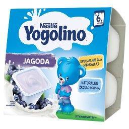 Yogolino Deserek mleczno-owocowy jagoda dla niemowlą...