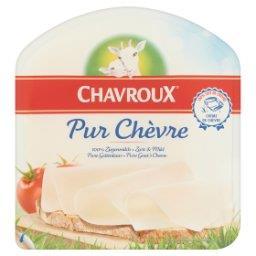 Pur Chèvre Ser dojrzewający z mleka koziego w plastr...