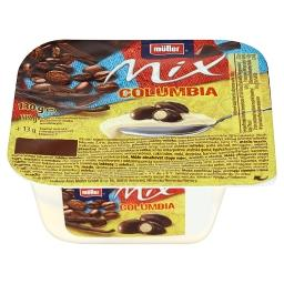Mix Columbia Jogurt o smaku waniliowym z oddzielną porcją ciasteczek kawowych