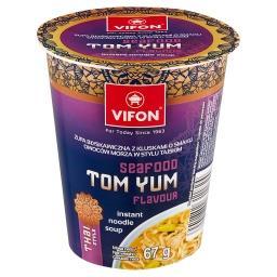Tom Yum Zupa z kluskami o smaku owoców morza w stylu...