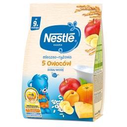 Kaszka mleczno-ryżowa 5 owoców dla niemowląt po 9. m...