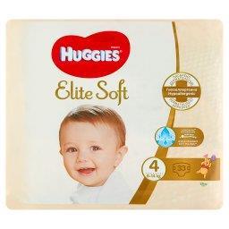 Elite Soft Pieluchy 4 8-14 kg 33 sztuki