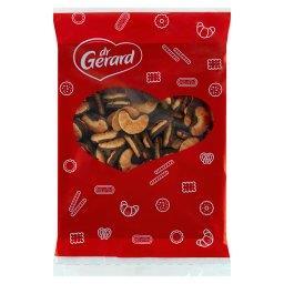 Mini rogaliki z polewą kakaową