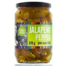 Papryka zielona Jalapeño krojona