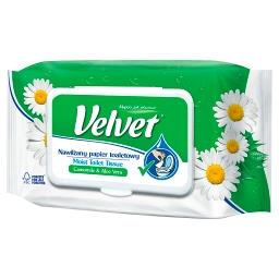 Camomile & Aloe Vera Nawilżany papier toaletowy 42 s...