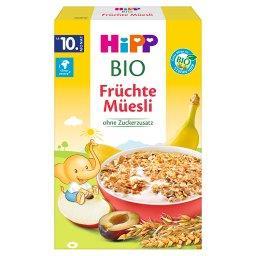 BIO Musli wielozbożowe banany-jabłka-śliwki od 10. m...
