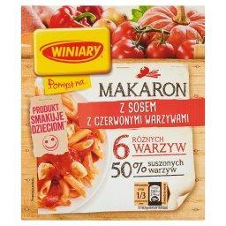Pomysł na... Makaron z sosem z czerwonymi warzywami