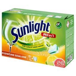 All in 1 Citrus Fresh Tabletki do zmywarki  (26 sztuk)