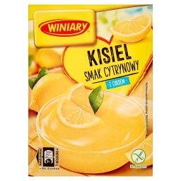 Kisiel z cukrem smak cytrynowy
