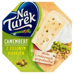 Ser pleśniowy camembert z zielonym pieprzem
