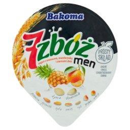 7 zbóż men Jogurt z ananasem mandarynką i ziarnami z...