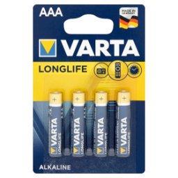 Longlife AAA LR03 1,5 V Bateria alkaliczna 4 sztuki
