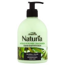 Naturia Mydło w płynie z balsamem oliwka
