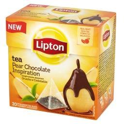 Inspirowane deserem gruszka w czekoladzie Herbata czarna  (20 torebek)