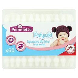 Patyczki higieniczne dla dzieci i niemowląt 60 sztuk