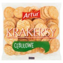 Krakersy cebulowe