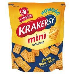 Krakersy mini solone