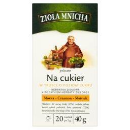 Zioła Mnicha Na cukier Herbatka ziołowa z dodatkiem ...