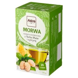 Herbata ekspresowa morwa z Yerba Mate i cytryną 30 g (20 x )