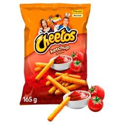 Chrupki kukurydziane o smaku ketchupowym