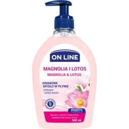 Mydło magnolia dozownik