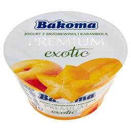 Premium Exotic Jogurt z brzoskwinią i karambolą