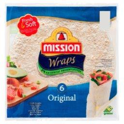 Wraps Original Tortilla z mąki pszennej  (6 sztuk)
