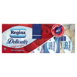 Delicatis Chusteczki higieniczne 10 x 9 sztuk