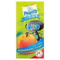 Junior Sok 100% pomarańczowy