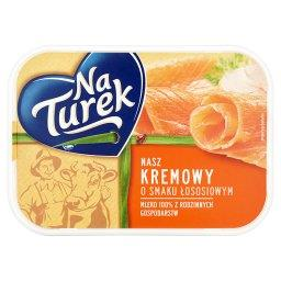 Nasz Kremowy o smaku łososiowym Serek twarogowy