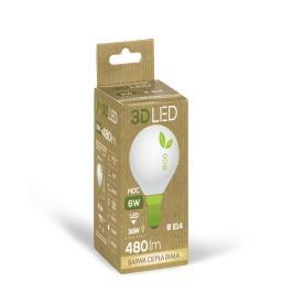 Żarówka E14 LED 6W(36W) 480LM