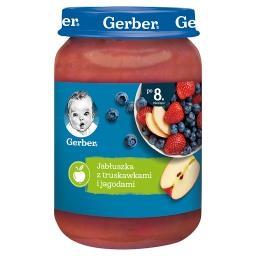 Jabłuszka z truskawkami i jagodami dla niemowląt po ...