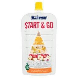 Start & Go Przecier owocowy jabłko-banan-mango