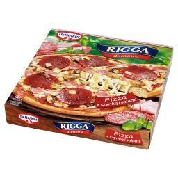 Rigga Pizza z szynką i salami