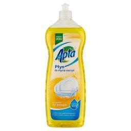 Płyn do mycia naczyń o zapachu cytrynowym