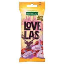 Love Las Mieszanka żurawiny z sokiem z jagód i migdałów w białej czekoladzie