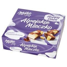 Alpejskie Mleczko Pianka o smaku śmietankowym Happy ...