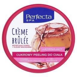 SPA Crème Brûlée Cukrowy peeling do ciała ujędrniający