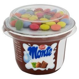 Monte Deser mleczny z czekoladą orzechami i drażami ...