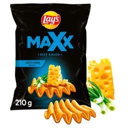 Maxx Chipsy ziemniaczane o smaku sera i cebulki