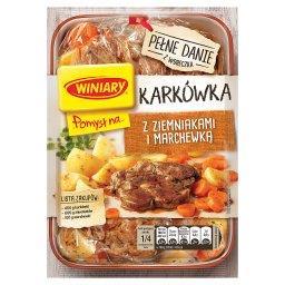 Pomysł na... Karkówka z ziemniakami i marchewką 30 g