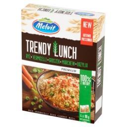 Premium Trendy Lunch ryż vermicelli groszek marchew bazylia 320 g