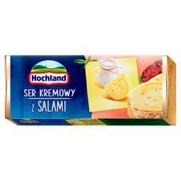 Ser kremowy z salami