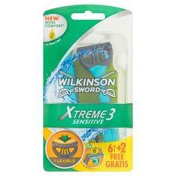 Xtreme3 Sensitive Jednorazowe maszynki do golenia 8 ...