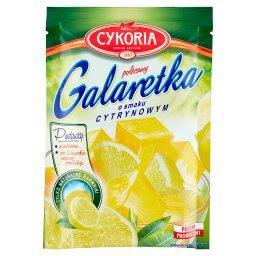 Galaretka o smaku cytrynowym