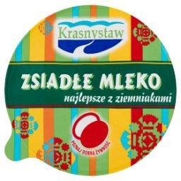 Zsiadłe mleko z Krasnegostawu