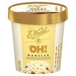 Oh! Lody wanilia z wedlowską czekoladą mleczną